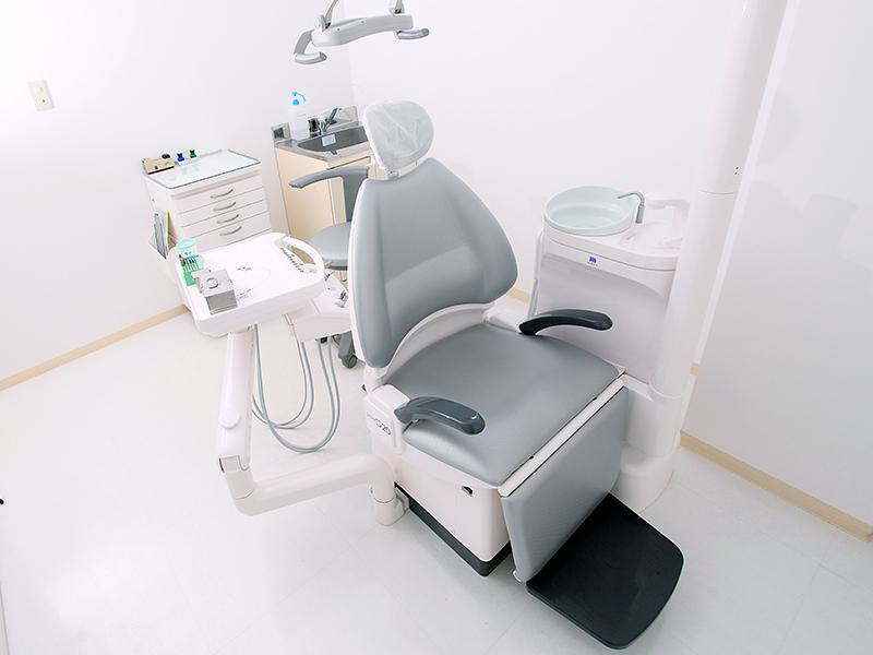 完全個室の診療室と手術室